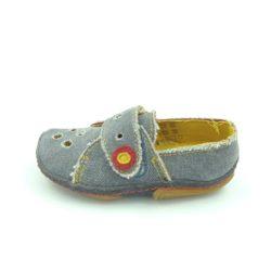 Dkm kisfiú bébi vászoncipő (kék)