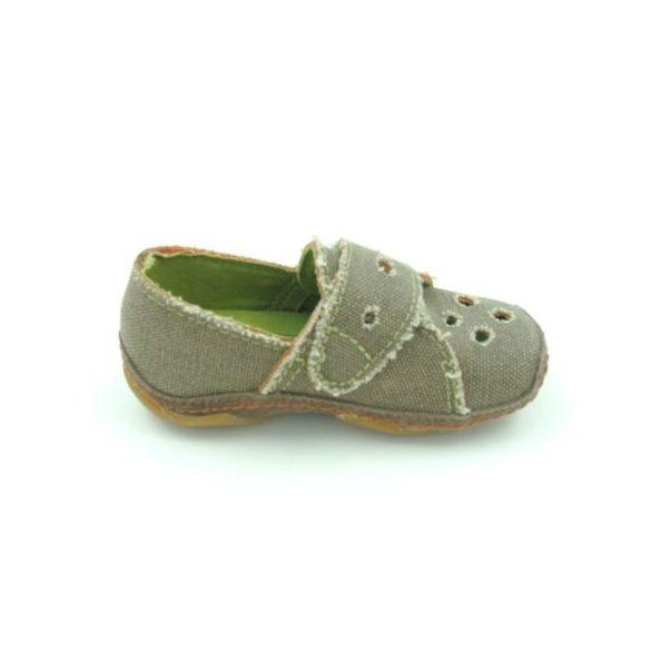 Dkm kisfiú bébi vászoncipő (keki)