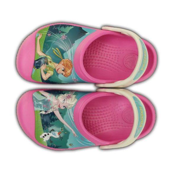 Crocs CC Frozenfever Clog kislány papucs* - 3D MINTÁS GRAFIKA!