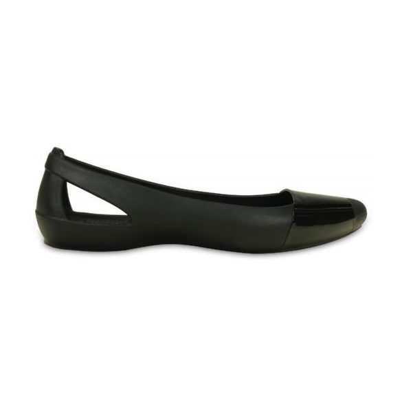 Crocs Sienna Shiny Flat balerina cipő*