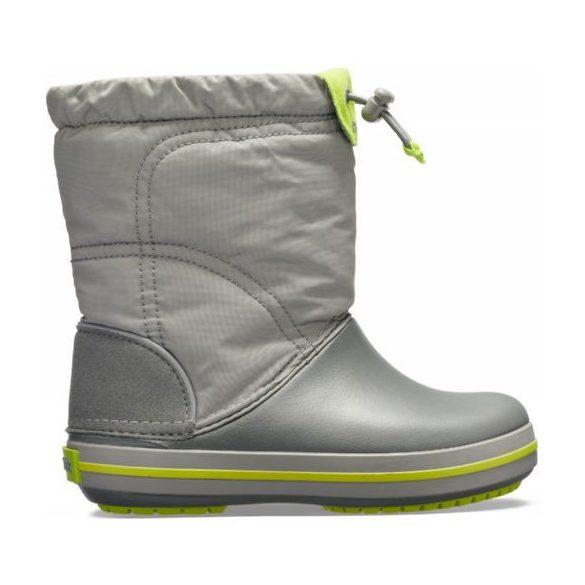 Crocs CB Lodge Point Graphic Winter Boot Kids fiú csizma* - TAPOSD A HAVAT!
