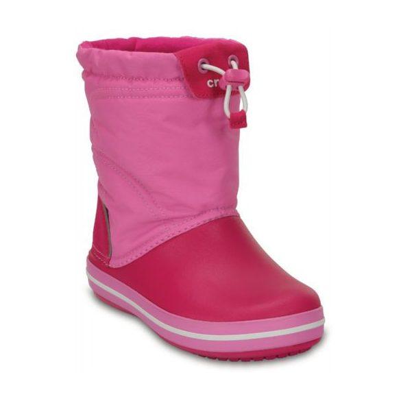Crocs CB Lodge Point Winter Boot Kids kislány csizma* -  HÓTAPOSÓ!