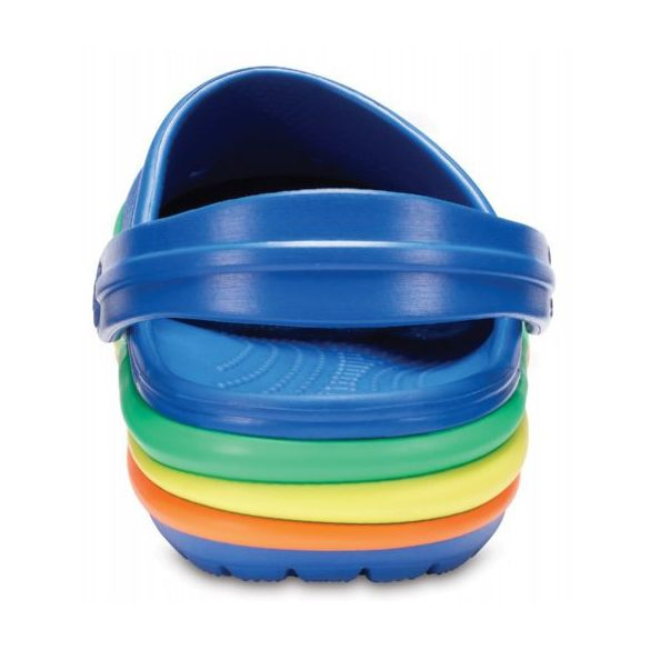 Crocs CB Rainbow Band Clog Kids gyerek papucs*