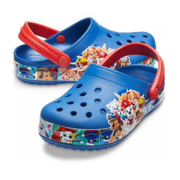 Crocs Crocs FL Paw Patrol Band LT Clog Kids kisfiú papucs* - 3D GRAFIKA!