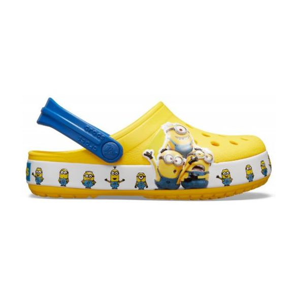 Crocs Crocs FL Minions Multi Clog Kids gyerek papucs* - 3D GRAFIKA!