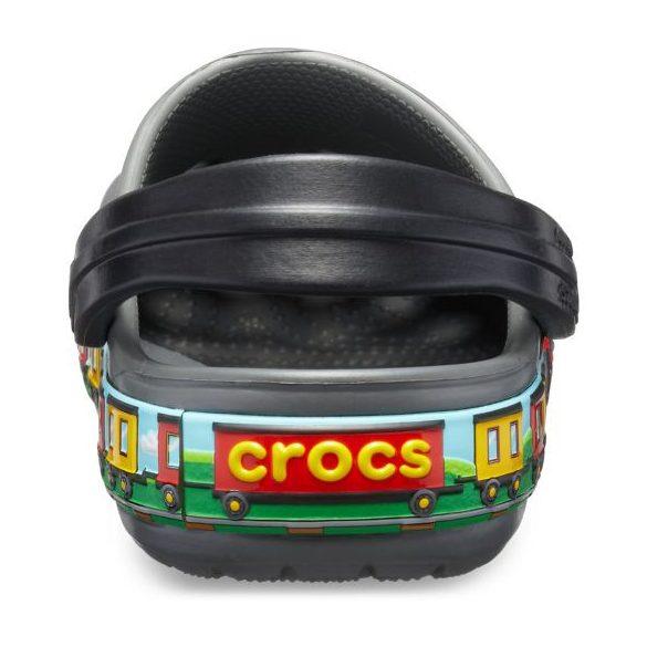 Crocs Crocs FL Train Band Clog Kids kisfiú papucs* - 3D GRAFIKA!