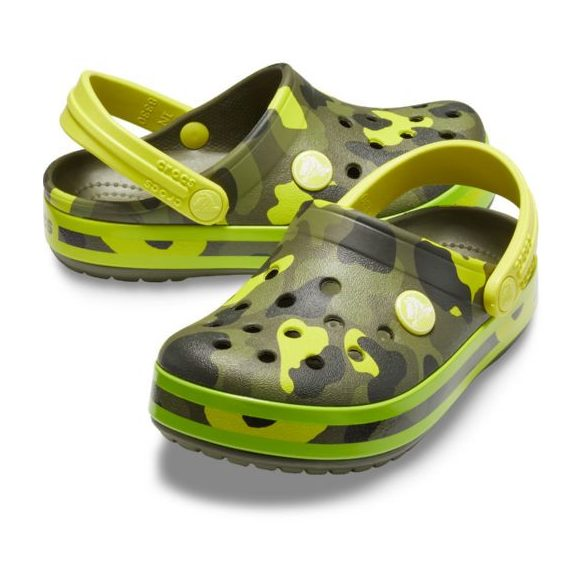 Crocs Crocband Multigraphic Clog Kids kisfiú papucs* - MINTÁS!