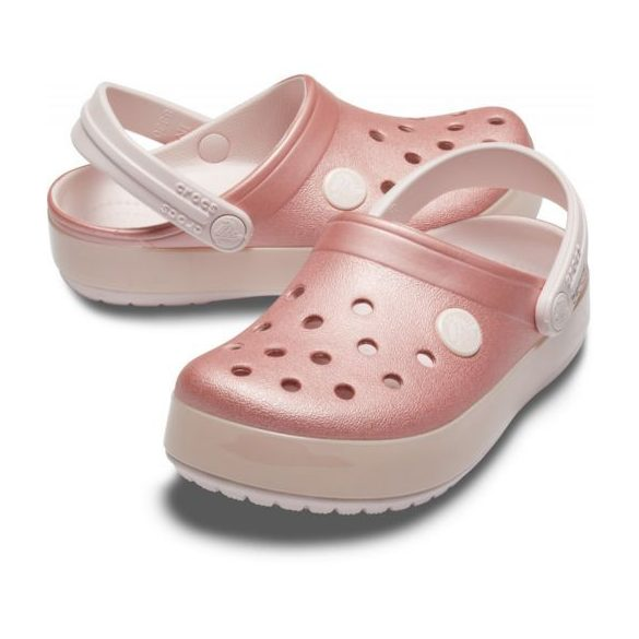 Crocs Crocband Ice Pop Clog Kids kislány papucs* - GYÖNYÖRŰ!