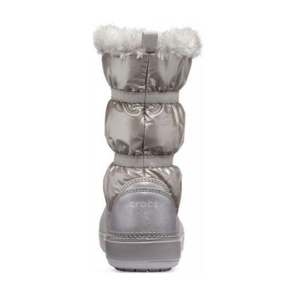 Crocs CB Lodge Point Metallic Boot Girl kislány csizma* - A NAGYLÁNYOS!
